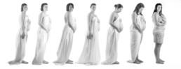 fotoshoot evolutie zwangerschap