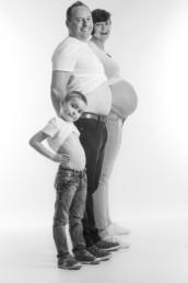 zwangerschaps fotosessie met broer